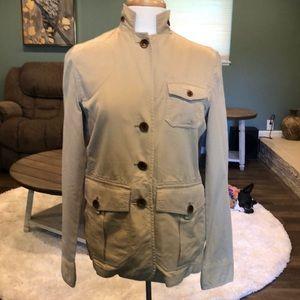 Lauren Ralph Lauren tan jacket size small petite